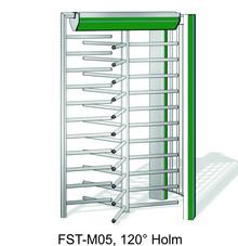Drehkreuz Kentauer INOVA Zeichnung 3x120 Grad Durchgang von Berlemann Torbau GmbH
