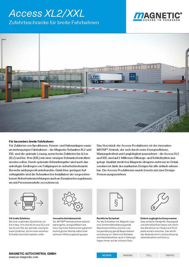 Prospekt INOVA Zutrittsysteme Schranken von Berlemann Torbau GmbH
