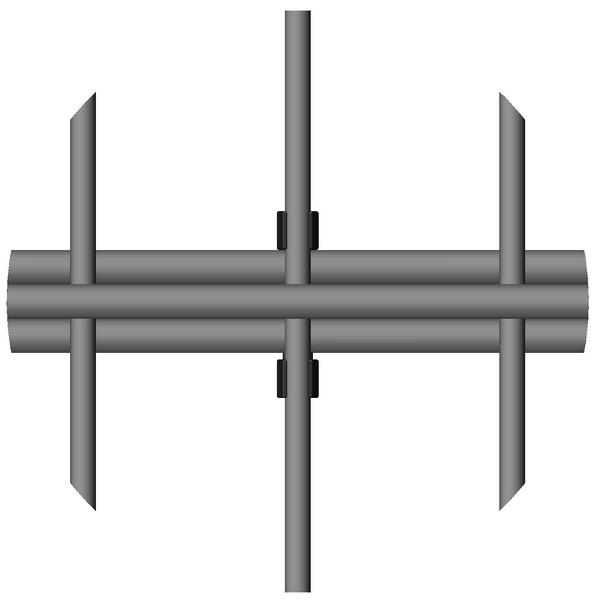 PeriNet Dreifachstabgitter INOVA Detail von Berlemann Torbau GmbH