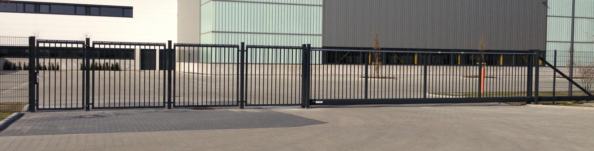 Einfahrtsbereich Reckers GmbH