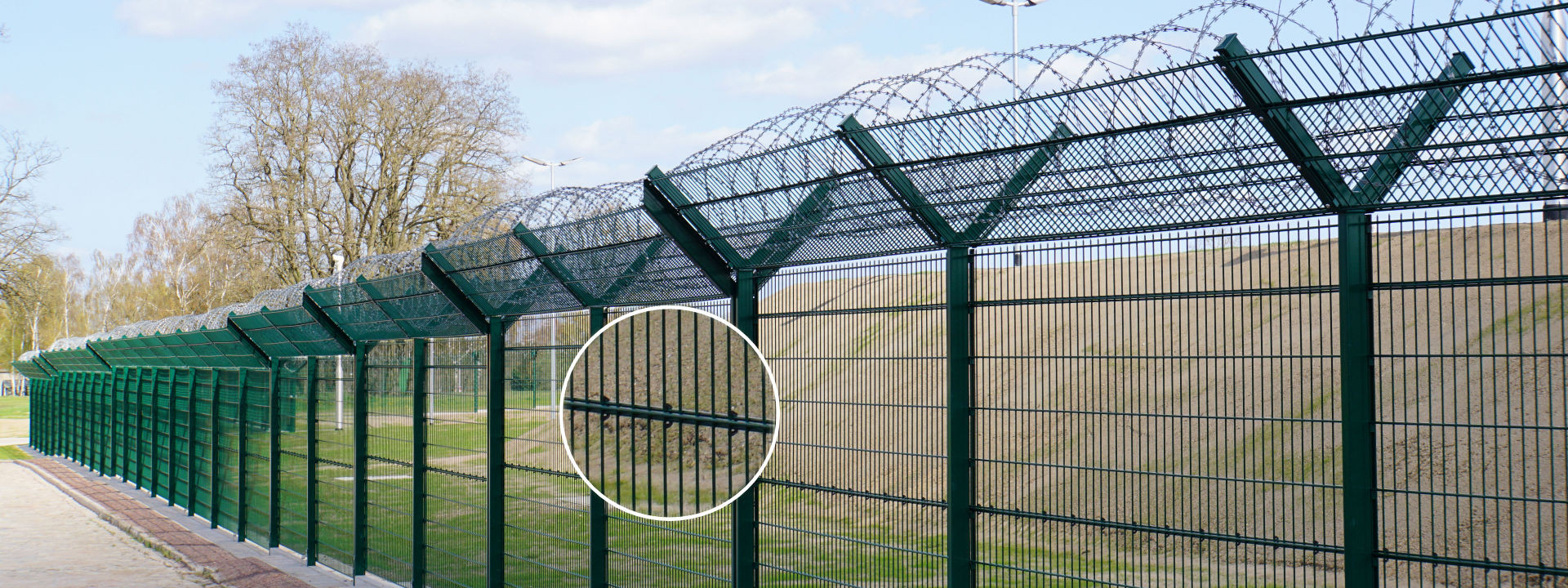 Double Wire Fence with Surveillance INOVA PeriNet