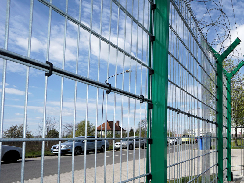 safety fence with line detection