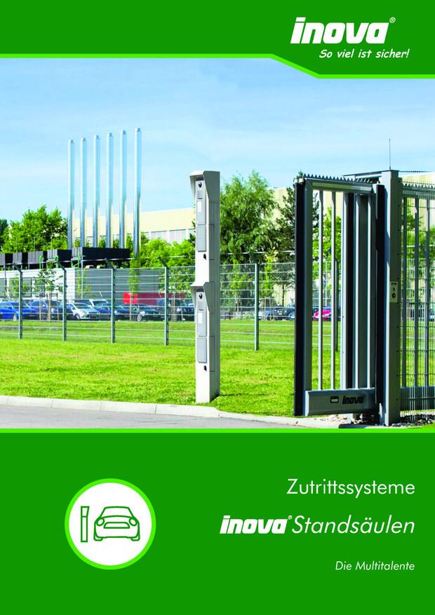 Prospekt INOVA Bediensäulen von Berlemann Torbau GmbH