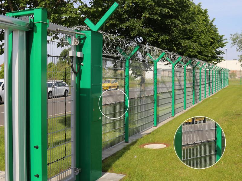 INOVA triple wire mesh with line sensor