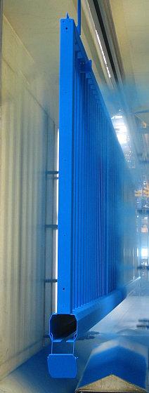 Process powder coating