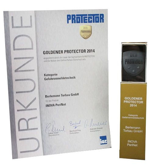 [Translate to Englisch:] Protector Award Gold