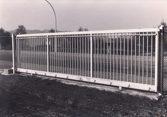 Slliding Gate in the 70's