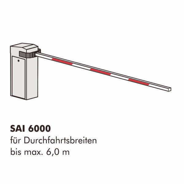 Schranke INOVA Zeichnung von Berlemann Torbau GmbH