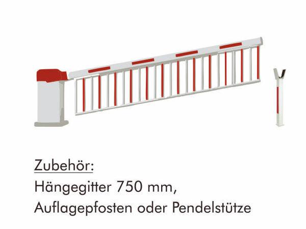 Schranke INOVA mit Haengegitter Zeichnung von Berlemann Torbau GmbH