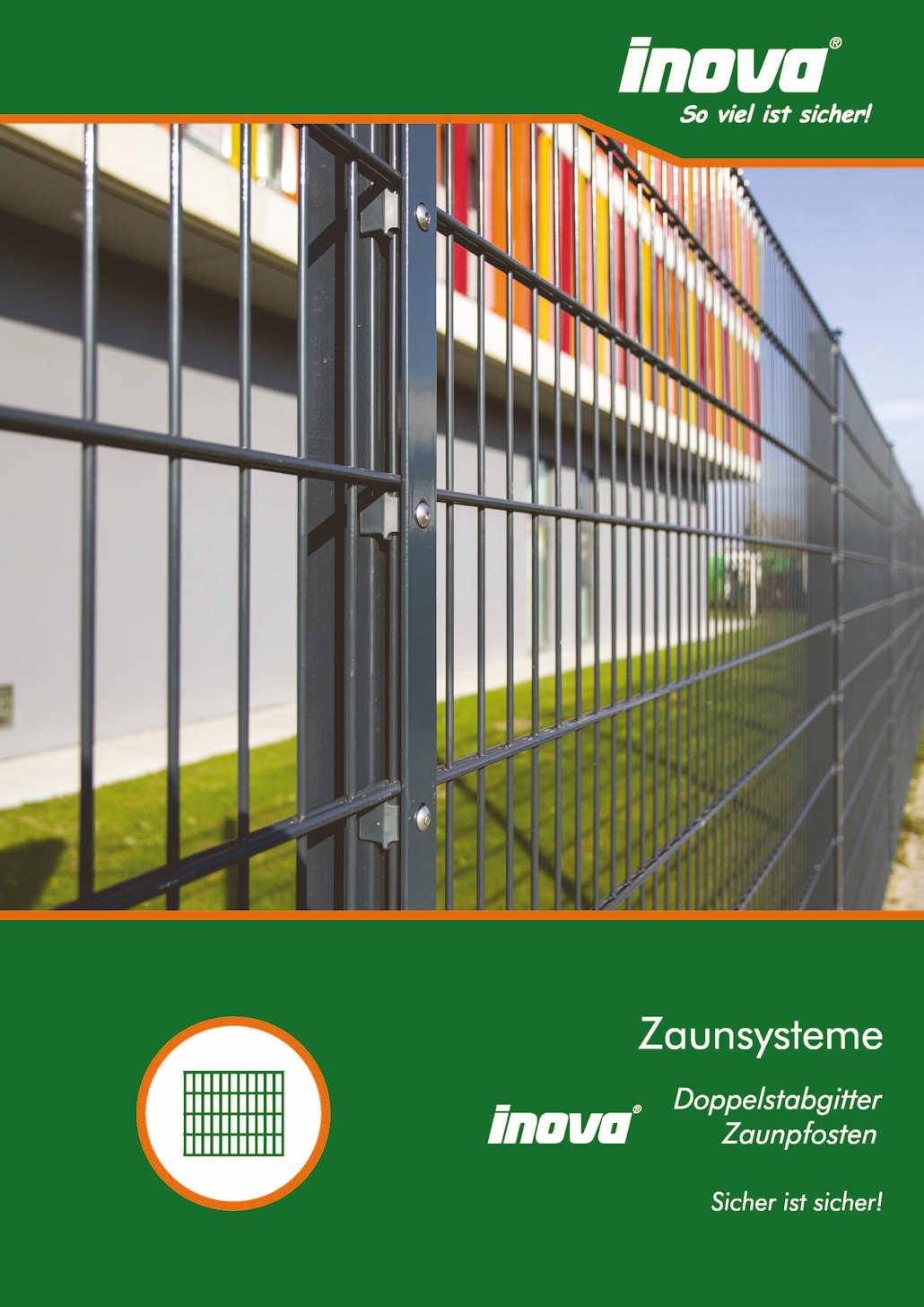 Prospekt INOVA Zaunsysteme von Berlemann Torbau GmbH